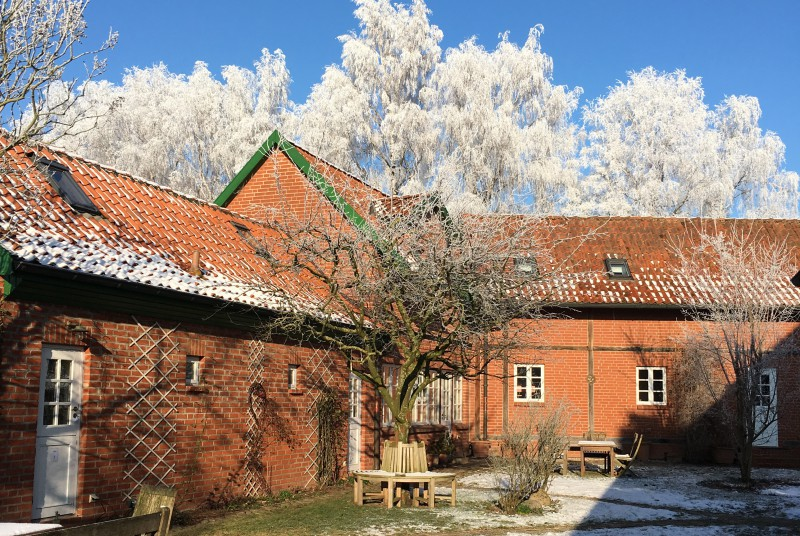 Seminarhaus Schlagsülsdorf im Winter